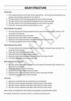 English Essay Writing Examples Vce English Language Essay Structure
