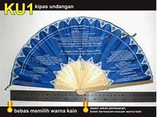 warna undangan kipas jenis kipas undangan undangan pernikahan unik harga murah