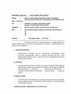 Formato De Informe Escrito Formato De Informe Guillermo Lobo