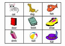 Flash Cards Words Early Years Literacy Skills Learning Pod Group