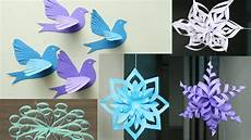 3d Paper Snowflake 3d Paper Snowflake Tutorial Diy Flowery Paper Snowflakes