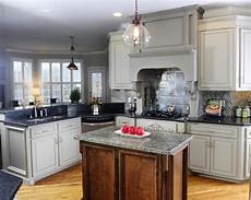 you considered grey kitchen cabinets