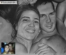desenho de pessoas desenho a l 225 pis retrato 2 pessoas r 440 00 em mercado livre