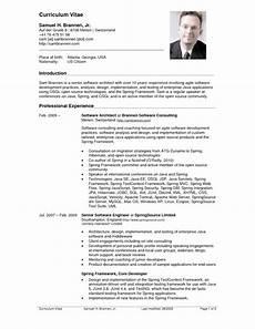 Resume Usa Template Resume Examples United States Architect Resume Sample