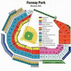 Fenway Park Seating Chart Printable Fenway Park Seating Map Holiday Map Q Holidaymapq Com