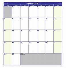 Monthly Word Calendar Download Free Microsoft Word Able Calendar Template