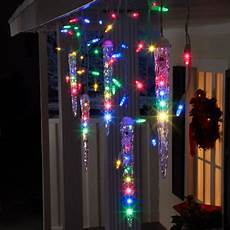bright star christmas light tester lightshow 87 count led shooting star icicle christmas