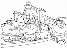 free printable chuggington coloring pages for