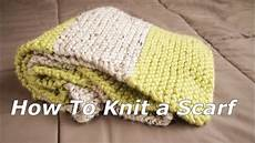 how to knit a multi colors scarf 12 step to easy