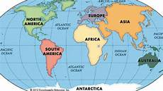 Continent World Map Continents Song Youtube