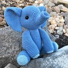 esther the elephant amigurumi pattern jess huff