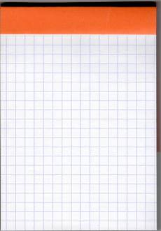 Graph Paper Notebook Rhodia Bloc Top Staple Graph Paper Notebook Review