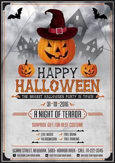 Halloween Flyers Templates Free Scary Halloween Night Flyer Design Template Psd