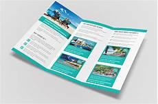 3 Fold Brochure Templates Travel Tri Fold Brochure Brochure Templates On Creative