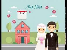 undangan video animasi undangan pernikahan animasi wedding invitation motion