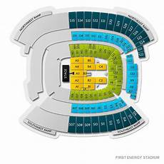 Cleveland Browns Stadium Seating Chart Firstenergy Stadium Tickets Cleveland Browns Home Games