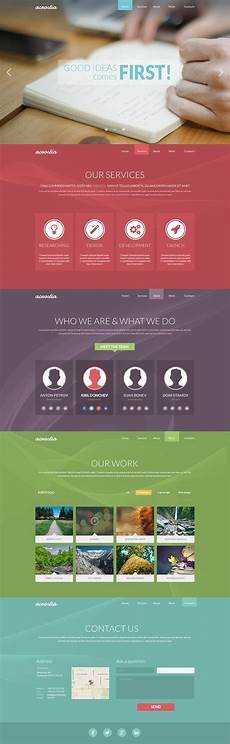 Single Page Website Templates Free Single Page Website Templates Psd 187 Css Author
