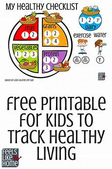Food Chart For Kids Printable For Kids To Track Healthy Living 1800 Calories