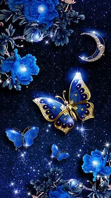 butterfly wallpaper in iphone blue butterfly live wallpaper android live