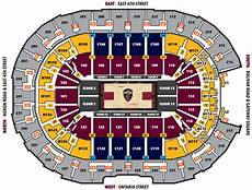 Hob Cleveland Seating Chart Seating Charts Rocket Mortgage Fieldhouse