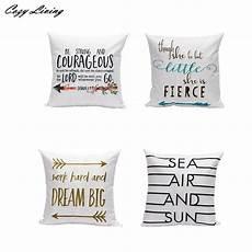 pillow cases 45 45cm letters pattern pillow linen