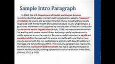Apa Style Literature Review Apa Literature Review Youtube