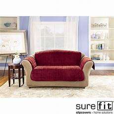 Sure Fit Deluxe Sofa Cover 3d Image by Sure Fit Deluxe Sofa Comfort Cover Free Shipping Today