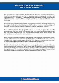 Pharmacy Essays Pharmacy School Personal Statement Writing Service
