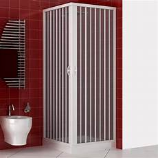 cabina doccia a soffietto box doccia 80x80 cm acrilico angolare apertura a soffietto