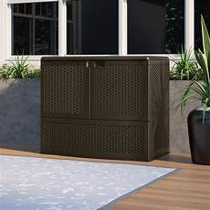 suncast suncast 195 gal outdoor patio door