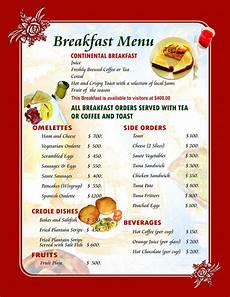 Breakfast Menu Layout Mister C Quot Excuse My English Quot March 2013