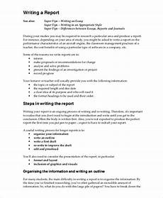 Report Writing Format Download Writing Template 15 Free Word Pdf Documents Download