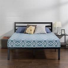 zinus lock 14 inch metal platform bed frame with