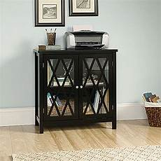 harbor view accent storage cabinet black d 420218