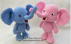 bigfoot elephant and pattern amigurumi to go