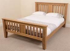 boston solid oak wood 5ft king size bed frame bedroom