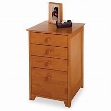 pemberly row 4 drawer wood vertical filing cabinet in