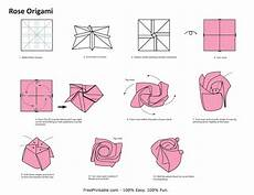 Rose Folding How To Rose Origami 171 Embroidery Amp Origami