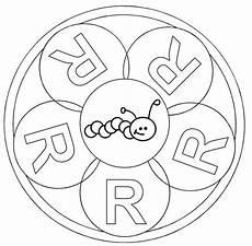 www kinder malvorlagen buchstaben mandala kostenlose malvorlage mandalas mandala buchstabe r zum