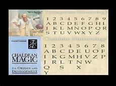 Chaldean Numerology Chart Pythagorean And Chaldean Numerology Chart Explained