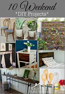 10 weekend diy projects