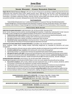 Human Resources Manager Resume Examples View Human Resources Manager Resume Example
