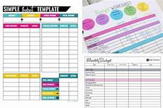 Budgetting Template 10 Free Budget Templates That Will Change Your Life