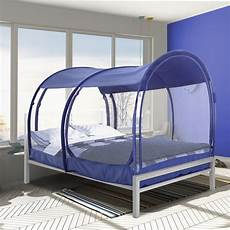alvantor bed tent pop up mosquito net size navy