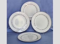 Vintage Noritake Fine China Corona Dinner Plates   eBay
