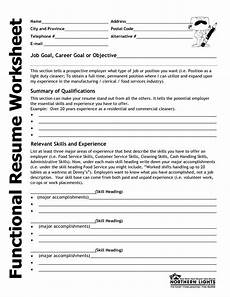 How To Fill Resumes 15 Best Images Of Career Experience Worksheets Career