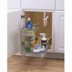 kitchen sink storage basket cabinet sliding drawer