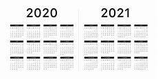 Basic Calendar 2020 Calendar 2020 2021 Week Starts On Sunday Basic Grid