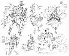 Character Design Sketches Mica Concept Art Il 247 Spring 2012 Character