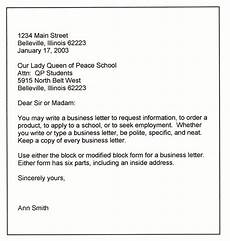 Template For Business Letter Business Letter Formats Download Business Letters Amp Pdf